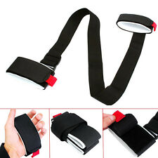 Ski Pole Shoulder Hand Carrier Lash Handle Straps Porter Hook Loop