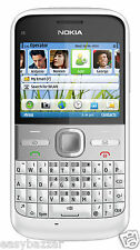 NOKIA E5 White | 3G | 5MP CAMERA | WIFI | FM | GPS | 2.4 INCH | SINGLE SIM