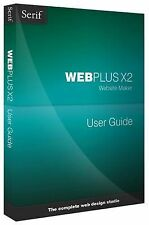 Very Good, Webplus X2 User Guide, Serif Europe Limited, Book