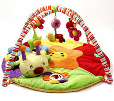 Baby Musical Play Mat *FREE* Caterpillar Bug Soft Toy - Premium Quality PlayMat