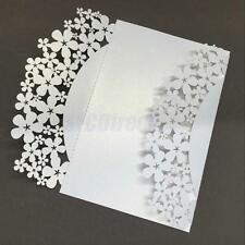 10 Pcs Laser Cut Lace Wedding Invitation Cards Greetings Card Wedding Favors