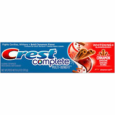 2pc Crest Complete Toothpaste Cinnamon Whitening Plus Fluoride Fights Cavities