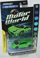 GreenLight motor World-Lamborghini Gallardo-green - 1:64