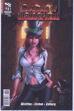 MADNESS OF WONDERLAND 1 B Zenescope Krome Grimm Fairy Tales Unlmt Ship 3.89