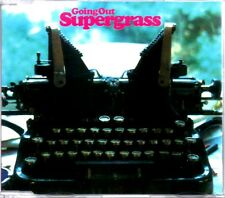 SUPERGRASS - GOING OUT - 3 TRACK 1996 CD SINGLE - NEAR MINT