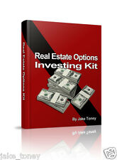 Real Estate Option Investing, Real Estate Investing Kit,  Profit with RE Options