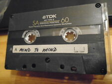 VERY RARE Mind To Mind song DEMO CASSETTE TAPE hard rock UNRELEASED 90s unknown