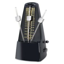 Cherub High Accuracy Mechanical Metronome for Piano Guitar (WSM-330) - Black