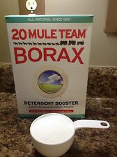 20 Mule Team Borax Detergent Booster, 1 Cup, 8oz