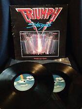 Triumph - Stages Double LP