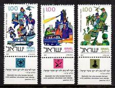 Israel - 1977 Police day Mi. 710-12 MNH
