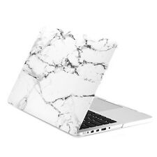"""White Marble Matte Hard Case for MacBook Pro 15"""" with Retina Display Model A1398"""