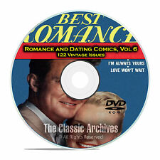 Romance, Love, Dating Comics, Vol 6, Confessions of Lovelorn Golden Age DVD D42