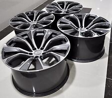 "20"" 2016 X6 M STYLE STAGGERED WHEELS RIMS FIT BMW X5 X6 1262 GM"