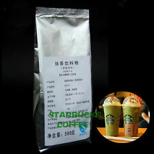 500gX 2 Bag Starbucks Matcha Green Tea Powder 2.2lbs Matcha Tea Latte Freen Ship