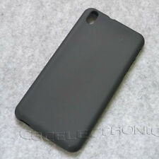 New Black TPU Gel skin case cover for HTC Desire 800 816