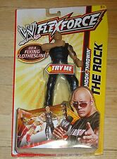 2011 WWE WWF Mattel The Rock Dwayne Johnson Flexforce Wrestling Figure MIP