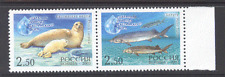 Russia 2003 Marine Fauna/Fish/Seals/Nature/Wildlife/Conservation 2v pr (n11444)