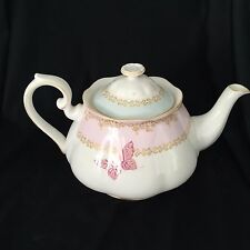 ROYAL ALBERT ZANDRA RHODES  MY FAVORITE THINGS Butterflies Scrolls Teapot Excel