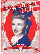 MAGNIFICENT DOLL GINGER ROGERS DAVID NIVEN MEREDITH NEW SEALED BW FS + TRACKING!