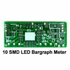 10 SMD LED Bargraph Display Meter PCB, DIY LM3914 linear bar graph voltage board