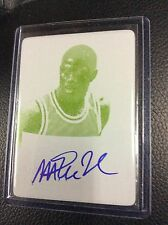 2012-13 Leaf Metal Magic Johnson 1/1 Faces Game Printing Plate auto Autograph