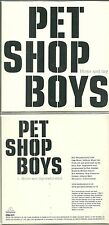 RARE / CD SINGLE 1 TITRE - PET SHOP BOYS : HOME AND DRY