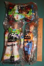 Set of 3 New 1990s Large Toy story items sealed Burger King pack Woody Buzz &Car