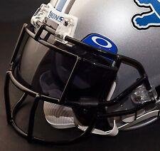 DETROIT LIONS NFL Schutt EGOP Football Helmet Facemask/Faceguard (BLACK)