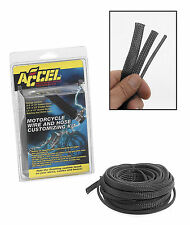 Accel - 2007CR - High-Temperature Sleeving Kit, Carbon