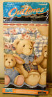 5 yds Teddy Bear Wallpaper Border Outlines by Imperial Pre-pasted Sculpted Edge