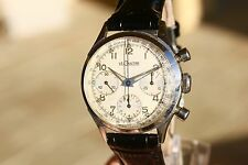 FANTASTIC JAEGER LE COULTRE VINTAGE CHRONOGRAPH WATCH EXCELLENT VALJOUX 72 CAL