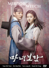 Mirror of the Witch Korean Drama (5DVDs) Excellent English & Quality!