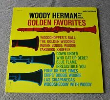 "Woody Herman & His Orchestra Golden Favorites / MCA Records 12""LP"