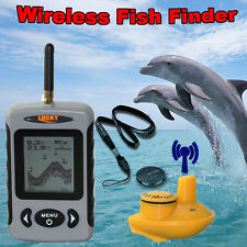 Lucky FFW718 Wireless Fish Finder 100M Sonar Depth ICE WATER, SEA, LAKE, RIVER