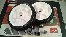 GENUINE TORO COMPLETE WHEEL KIT WITH METAL DRIVE GEAR REPLACES 115-4695