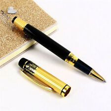 1xCool Style HERO 901 Medium Nib Fountain Roller Ball Pen Pencil Study Tool Gold