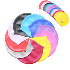 UNISEX ADULT CHILDREN SILICONE SWIM SWIMMING HAT CAP ONE SIZE FIT ALL NEW