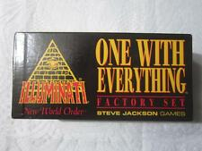 * FACTORY SET - 1995 * Illuminati INWO Card Game  * NEW WORLD ORDER * NWO NUKE