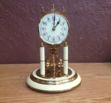 Vintage Kern Anniversary Clock Made In Germany K.u.S.