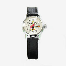 Vintage Walt Disney Bradley Time Minnie Mouse Mechanical Cartoon Analog Watch