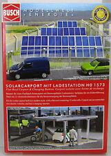 Busch 1573 Kit: solarcarport con stromzapfsäule Ho