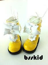 SALE Blythe Pullip 1/6 12 inch Dolls Lolita YELLOW Shoes Boot
