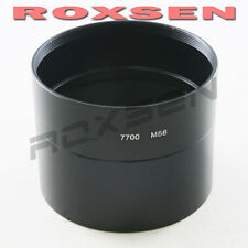 Metal 58mm Lens Filter Adapter Tube Ring For Nikon Coolpix P7700 Digital Camera