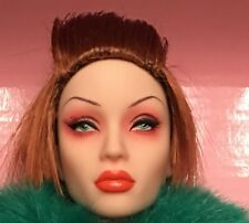 NEW SYBARITE SUPERDOLL Kinky Look Viridian NUDE Doll w wig hands stand Gen X.2