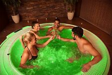 4-LED Water Submersible Lights for your Bath Tub Jacuzzi Pool 2 Remote Controls
