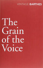 The Grain of the Voice by Roland Barthes (Paperback, 2010)