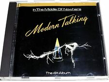 cd-album, Modern Talking - In The Middle Of Nowhere (The 4th Album), 10 Tracks