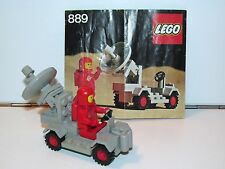 LEGO SPACE No 889 RADAR TRUCK 100% COMPLETE + INSTRUCTIONS - 1980s