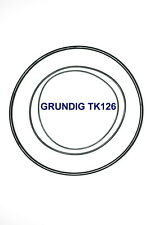 SET BELTS GRUNDIG TK126 REEL TO REEL EXTRA STRONG NEW FACTORY FRESH TK 126